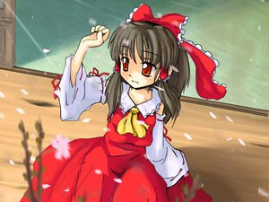 Rating: Safe Score: 1 Tags: hakurei_reimu touhou User: WhiteExecutor
