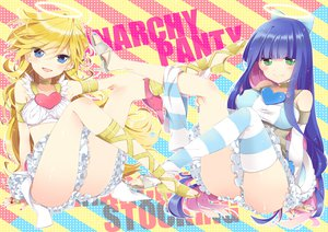 Rating: Safe Score: 111 Tags: nimame panty_&_stocking_with_garterbelt panty_(character) stocking_(character) User: HawthorneKitty