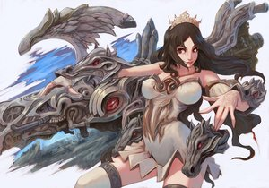 Rating: Safe Score: 42 Tags: 2c black_hair crown dragon red_eyes User: birdy73