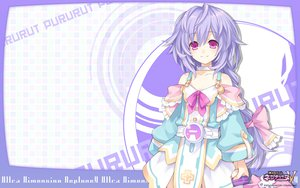 Rating: Safe Score: 87 Tags: hyperdimension_neptunia iris_heart pink_eyes purple_hair pururut tsunako User: vertical09
