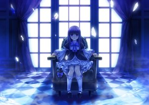 Rating: Safe Score: 142 Tags: blue frederica_bernkastel goth-loli kneehighs lolita_fashion monochrome moonknives umineko_no_naku_koro_ni User: gnarf1975