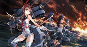 Rating: Safe Score: 36 Tags: battleship_girls group kantai_collection zeco User: FormX