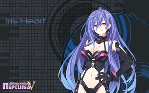 Rating: Questionable Score: 195 Tags: blue_hair hyperdimension_neptunia iris_heart long_hair red_eyes tsunako User: XTR17