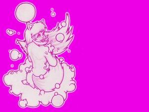 Rating: Safe Score: 8 Tags: animal_ears bubbles fang foxgirl kisumi monochrome nude original pink tail white_hair yusef420 User: kisumi