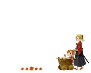 Rating: Safe Score: 1 Tags: ichigo_mashimaro lone_wolf_and_cub parody white User: Oyashiro-sama