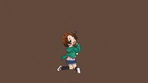 Rating: Safe Score: 38 Tags: brown brown_hair idolmaster idolmaster_cinderella_girls loli panties ryuuzaki_kaoru saeki_tatsuya short_hair shorts underwear User: thebakamono