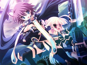 Rating: Safe Score: 12 Tags: chaos_region gouen_no_soleil nanashiki_rin skyfish User: 秀悟