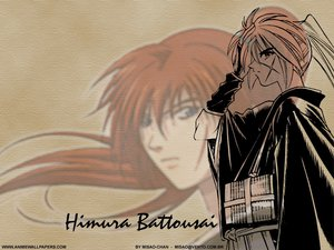 Rating: Safe Score: 1 Tags: all_male himura_kenshin japanese_clothes male rurouni_kenshin scar User: Oyashiro-sama