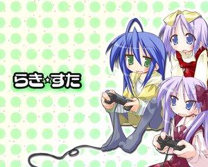 Rating: Safe Score: 6 Tags: hiiragi_kagami hiiragi_tsukasa izumi_konata lucky_star User: Oyashiro-sama