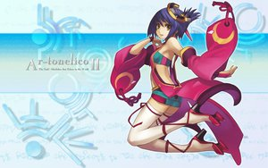 Rating: Safe Score: 35 Tags: ar_tonelico ar_tonelico_ii blue_hair luca_trulyworth nagi_ryou thighhighs User: 秀悟