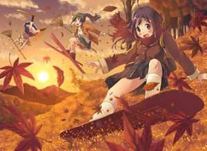 Rating: Safe Score: 14 Tags: autumn leaves original sport tagme_(artist) User: luckyluna