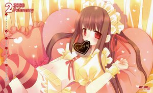 Rating: Questionable Score: 29 Tags: calendar tagme thighhighs valentine User: 秀悟