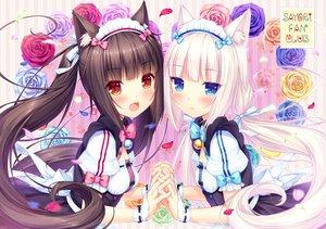 Rating: Safe Score: 68 Tags: animal_ears catgirl chocola_(sayori) nekopara neko_works sayori vanilla_(sayori) User: luckyluna