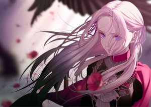 Rating: Safe Score: 73 Tags: edelgard_von_hresvelg fire_emblem flowers long_hair mueririko pink_hair purple_eyes uniform User: FormX