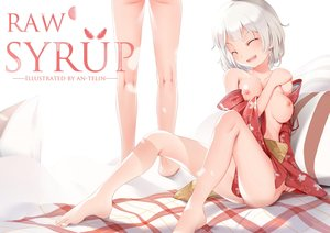 Rating: Questionable Score: 55 Tags: an-telin barefoot breasts japanese_clothes maple_story nipples short_hair tagme_(character) watermark white User: RyuZU