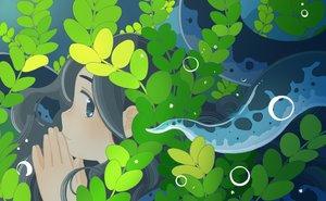 Rating: Safe Score: 30 Tags: akai_sashimi black_eyes black_hair leaves long_hair original tentacles underwater water User: RyuZU