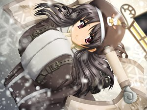 Rating: Safe Score: 13 Tags: ragnarok_online snow snowman sohee winter User: Oyashiro-sama