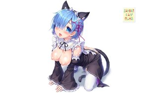 Rating: Explicit Score: 320 Tags: anal animal_ears aqua_hair blue_eyes breasts catgirl dress nipples pussy_juice rem_(re:zero) re:zero_kara_hajimeru_isekai_seikatsu sayori tail thighhighs third-party_edit wet white User: kamenitza