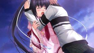 Rating: Safe Score: 31 Tags: crying game_cg hinoue_itaru hug key konohana_lucia long_hair rewrite school_uniform tennouji_kotarou visualart User: Stealthbird97