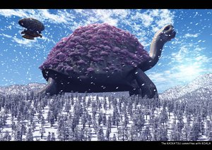 Rating: Safe Score: 75 Tags: animal cherry_blossoms flowers snow tagme turtle winter User: HawthorneKitty