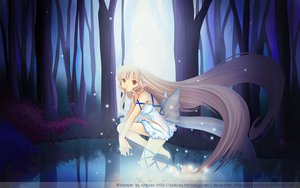 Rating: Questionable Score: 35 Tags: chii chobits long_hair wings User: gnarf1975