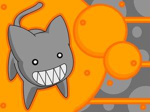 Rating: Safe Score: 12 Tags: animal azumanga_daioh cat kamineko orange vector User: Oyashiro-sama