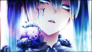 Rating: Safe Score: 136 Tags: 1055 blue blue_eyes blue_hair close crying hatsune_miku long_hair polychromatic twintails vocaloid User: mattiasc02