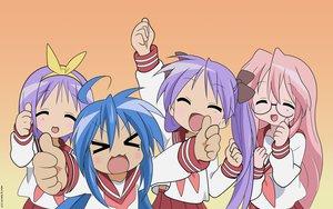Rating: Safe Score: 20 Tags: hiiragi_kagami hiiragi_tsukasa izumi_konata lucky_star takara_miyuki User: Oyashiro-sama
