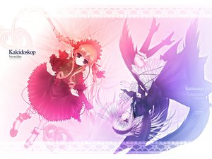 Rating: Safe Score: 13 Tags: 2girls goth-loli lolita_fashion rozen_maiden shinku suigintou User: Oyashiro-sama