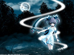 Rating: Questionable Score: 9 Tags: moon sakuya_tsuitachi scythe signed User: jorge