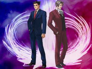 Rating: Safe Score: 12 Tags: gyakuten_saiban miles_edgeworth phoenix_wright User: Haru
