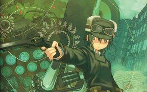 Rating: Safe Score: 21 Tags: gun hermes kino kino_no_tabi kuroboshi_kouhaku weapon User: Oyashiro-sama