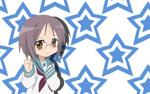 Rating: Safe Score: 22 Tags: glasses hiiragi_tsukasa lucky_star nagato_yuki stars suzumiya_haruhi_no_yuutsu User: Oyashiro-sama