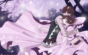 Rating: Safe Score: 8 Tags: brown_hair cherry_blossoms green_eyes moon petals sakura_(tsubasa) syaoran tsubasa_reservoir_chronicle vector User: mikucchi
