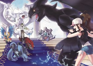 Rating: Safe Score: 65 Tags: archeops carracosta klinklang n pokemon reshiram tanpi touko_(pokemon) vanilluxe zekrom zoroark User: FormX