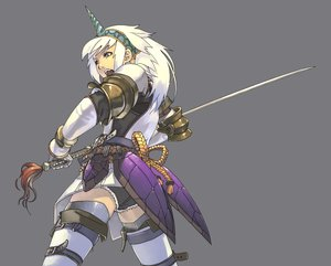Rating: Safe Score: 87 Tags: kirin_(armor) monster_hunter sword weapon User: Oyashiro-sama