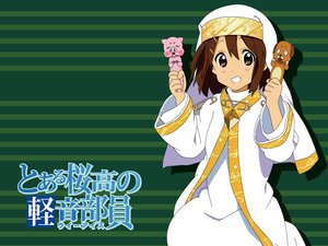 Rating: Safe Score: 36 Tags: cosplay green hirasawa_yui k-on! to_aru_majutsu_no_index User: HawthorneKitty