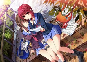 Rating: Safe Score: 133 Tags: 2girls angel_beats! hisako iwasawa_masami tazu User: Flandre93