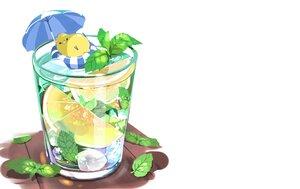 Rating: Safe Score: 26 Tags: animal bird chai_(artist) drink food fruit leaves nobody original shade signed swim_ring umbrella white User: otaku_emmy