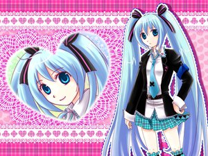 Rating: Safe Score: 36 Tags: hatsune_miku parody shugo_chara twintails vocaloid yutu User: HawthorneKitty