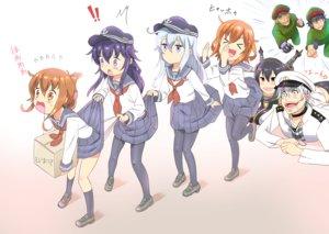 Rating: Questionable Score: 71 Tags: accelerator admiral_(kancolle) akatsuki_(kancolle) anthropomorphism blush group hibiki_(kancolle) ikazuchi_(kancolle) inazuma_(kancolle) kamijou_touma kantai_collection kihara_amata loli male mushi_gyouza nagato_(kancolle) pantyhose parody school_uniform skirt_lift to_aru_kagaku_no_railgun to_aru_majutsu_no_index underwear uniform User: gnarf1975