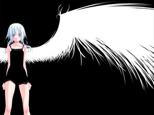 Rating: Safe Score: 65 Tags: black sakuya_tsuitachi wings User: 秀悟