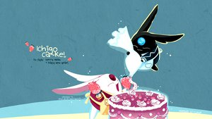 Rating: Safe Score: 21 Tags: cake mokona strawberry tsubasa_reservoir_chronicle xxxholic User: mrdkreka