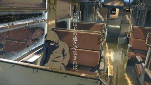 Rating: Safe Score: 41 Tags: all_male brown_hair byousoku_5_centimetre comix_wave male shinkai_makoto snow toono_takaki train User: cadenza