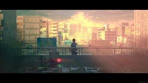 Rating: Safe Score: 54 Tags: all_male building car city landscape male original photo scenic sunset tanaka_ryosuke watermark User: Flandre93