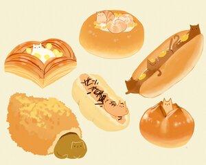 Rating: Safe Score: 13 Tags: animal brown cat chai_(artist) nobody original polychromatic signed User: otaku_emmy