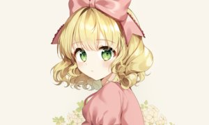 Rating: Safe Score: 77 Tags: blonde_hair blush bow close flowers green_eyes headband hina_ichigo loli lolita_fashion rozen_maiden short_hair sigi User: otaku_emmy