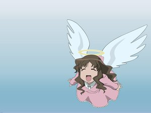 Rating: Safe Score: 7 Tags: angel azumanga_daioh kimuras_wife User: Oyashiro-sama