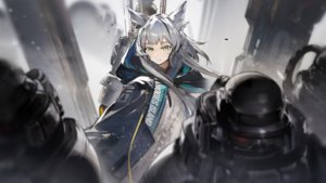 Rating: Safe Score: 49 Tags: animal_ears arknights game_cg gray_hair green_eyes long_hair male rosmontis_(arknights) tagme_(artist) User: Nepcoheart