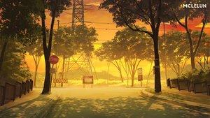Rating: Safe Score: 31 Tags: clouds mclelun nobody original scenic shade sky sunset tree watermark User: RyuZU
